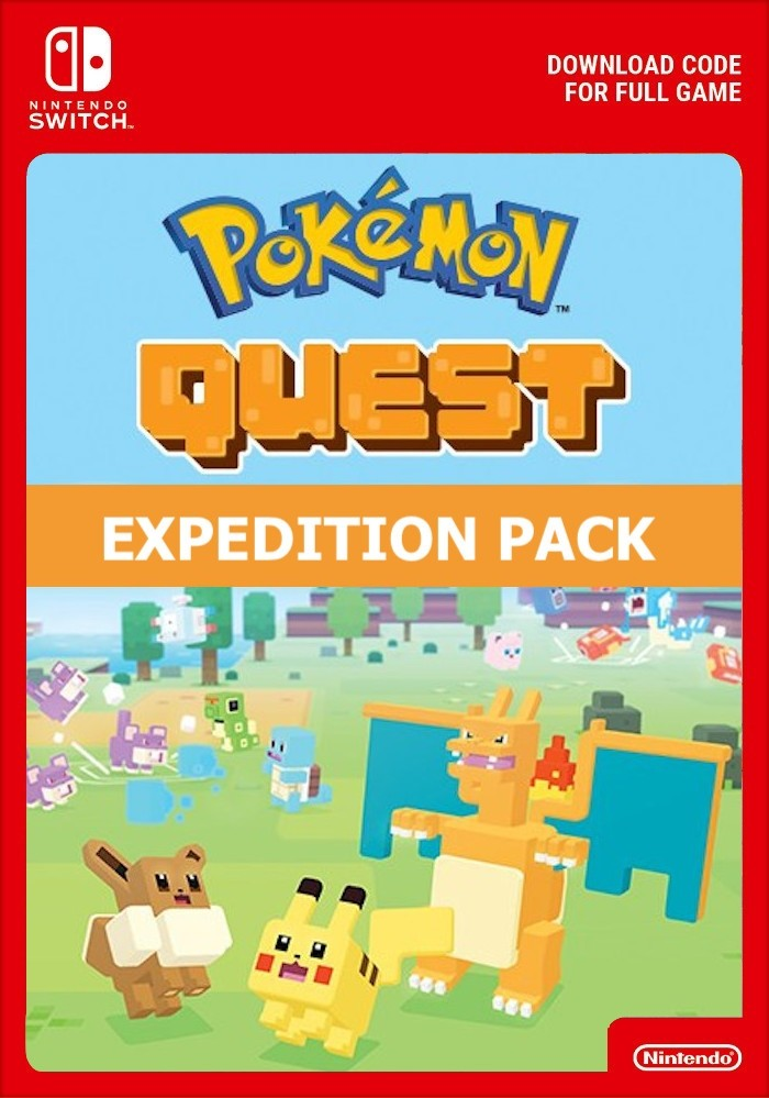 Purchase Pokemon Quest: Great Expedition Pack - Switch eShop