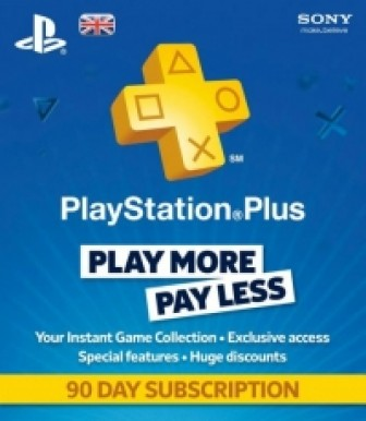 PSN Playstation Plus Card UK 3  Month