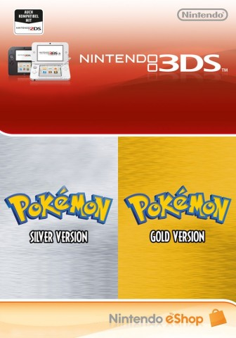 Pokemon Silver and Gold - eShop Code Bundle