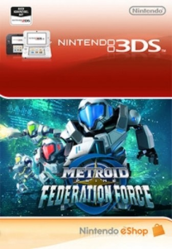 Metroid Prime: Federation Force - eShop Code
