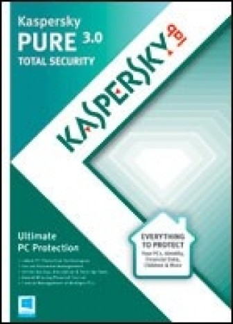 Kaspersky PURE 3.0 Total Security - 1 year