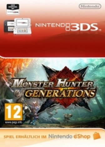 Monster Hunter Generations - eShop Code