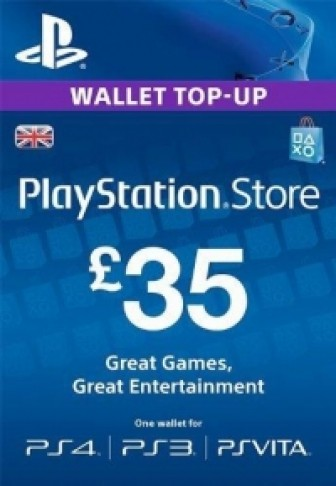 PSN Card UK 35 Pound