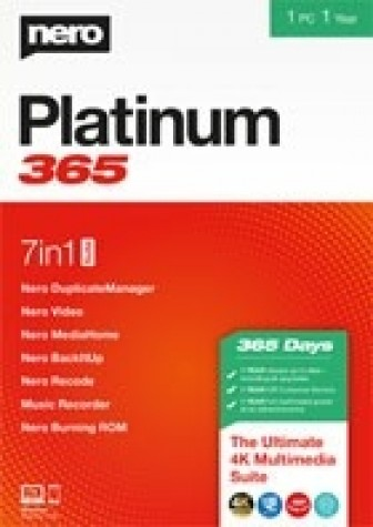 Nero Platinum 365 - 1 Year