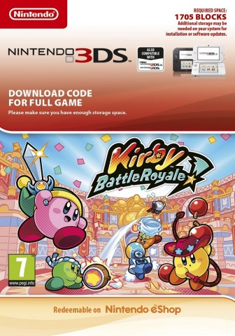 Kirby Battle Royale - eShop Code
