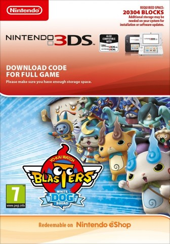 Yokai Watch Blasters: White Dog Squad - eShop Code