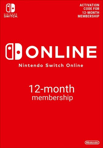 Nintendo Switch Online 12 Months Individual Membership (365 Days)