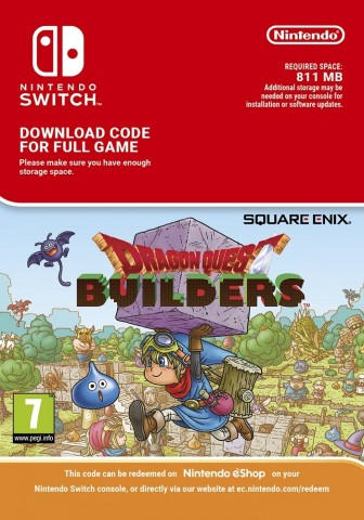 Dragon Quest Builders - eShop Code