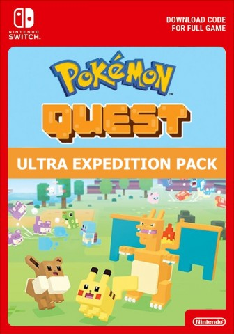 Pokemon Quest: Ultra Expedition Pack - Switch eShop Code