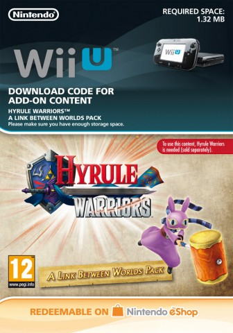 Hyrule Warriors A Link Between Worlds Pack - eShop Code