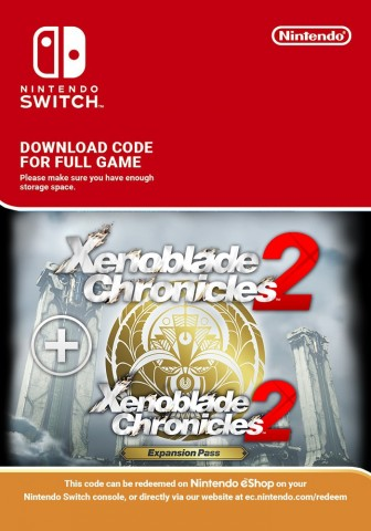 Xenoblade Chronicles 2 and Expansion Pass - eShop Code Bundle