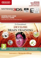 Dr Kawashima's Devilish Brain Training: Can you stay focused? - eShop Code