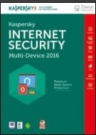 Kaspersky Internet Security Multi-Device 2016 - 3 PC - 1 Year