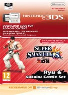 Super Smash Bros. for 3DS - Ryu & Suzaku Castle Stage - eShop Code