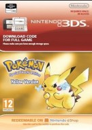 Pokémon Yellow Version: Special Pikachu Edition - eShop Code